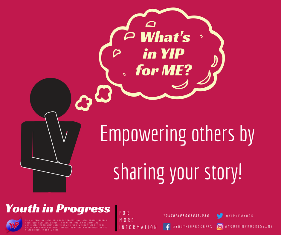 What's in YIP for Me? Empowerment!