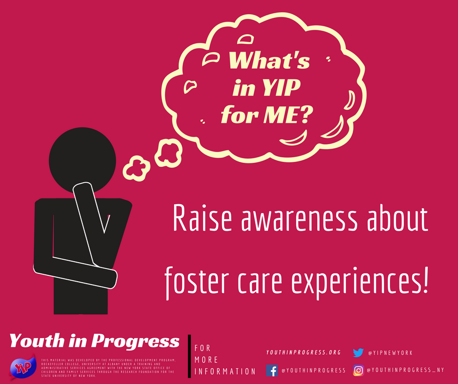 What's in YIP for Me? Awareness!