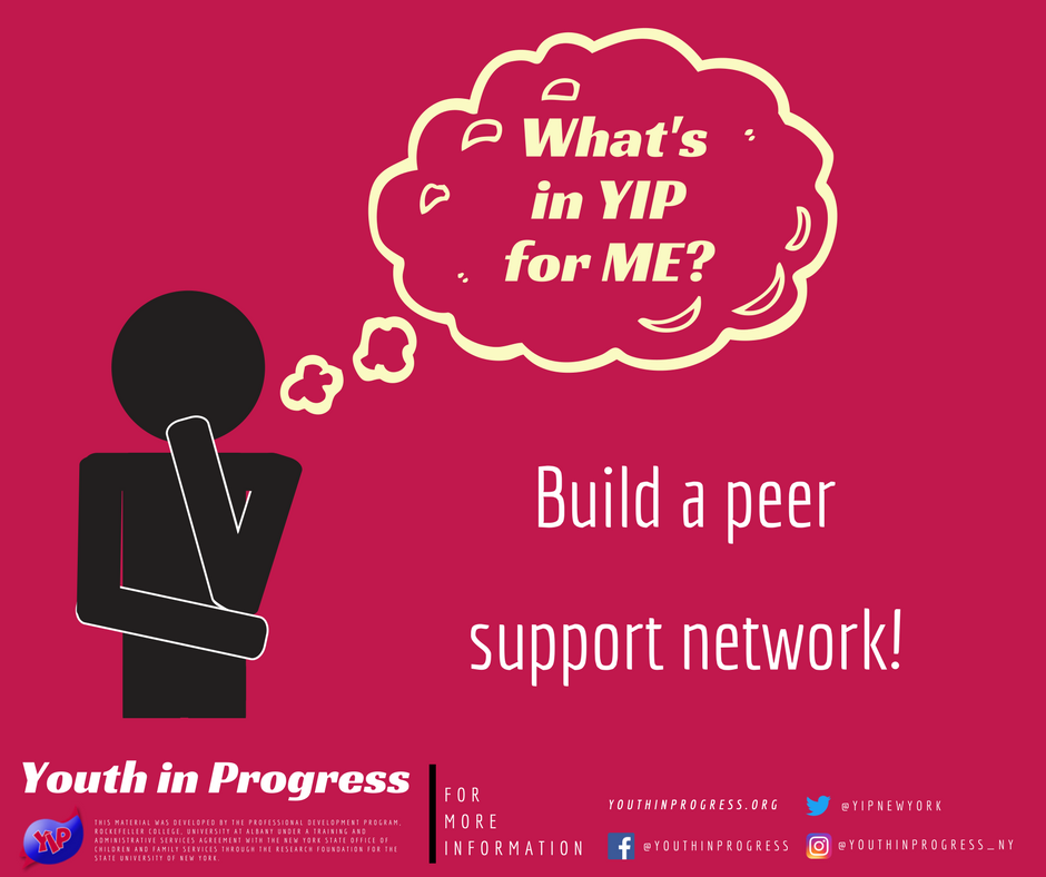What's in YIP for Me? Support!