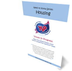 Cover for 'Housing' Need to Know pamphlet