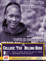 College: Youth Belong Here poster